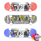 Скейтборд/скейт спортивный Cool с прочной подвеской: 5 цветов
