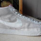 № 1496 кроссовки кеды Nike blazer 45.5 кожа