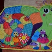 Развивающий коврик Lamaze Ламазе для малышей яркий и красочный