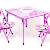 Столик с двумя стульчиками  Акция