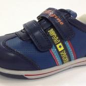 Туфли кроссовки ТМ Tom.m закрытые на липучках для мальчика р.25