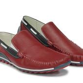 Модные мужские мокасины цвета М 413,414