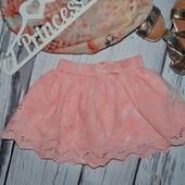 6 - 9 месяцев но 8 кг Очень классная натуральная юбка стильной моднице фирменная Next некст