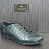 Мужские туфли Mida 11132 черные