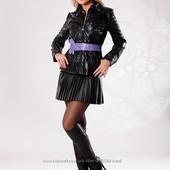 Курточки из эко кожи любимой фирмы Tafika  р. 42