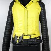 Роскошные деми курточки  Lizabeta  р. 42, 44, 46 цвет лимонный