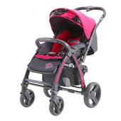 Прогулочная коляска Quatro Rally Pink, розовый (малиновый)