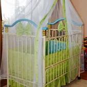 Кроватка для детей от 0-7 лет