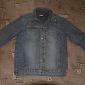 джинсовый пиджак americano размер М ,100% коттон