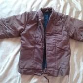 Новая!! Тёплая курточка на синтапоне 100. Размер:  98-104