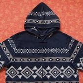 Взрослый флисовый человечек-пижама размер М, б/у. Хорошее состояние, без пятен. Длина от плеча 156 с