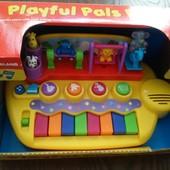 Пианино Зверята на качелях Kiddieland