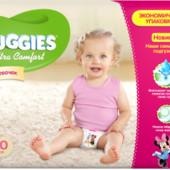 Huggies Ultra Comfort 4+(68) для девочек Доставка