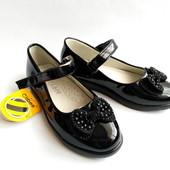 Детские туфли для девочки бренда Clibee, р. 27-32, код 225
