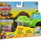 Плей До Лепка машинки для строительства дорог Play Doh 49492 - зеленая Hasbro плей дох
