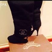 Продам чобітки Chanel 36 р.