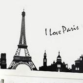 Интерьерная наклейка на стену  Париж