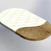 BaggyBed матрас на кроватку кокос