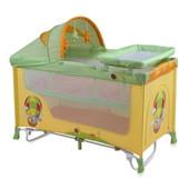 Детская кровать-манеж Lorelli Nanny 2 + рокер