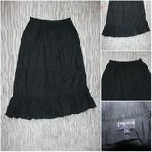 Черная юбка в пол. Papaya
