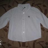 Сорочка (рубашка) United colors of beneton на 9 - 12 місяців