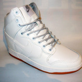 Сникерсы Nike белые Д399 р.41
