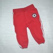 Яркие спортивные штаны с начесом Converse