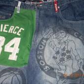 Iverson & nba stars джинсы большого размера 42р из США
