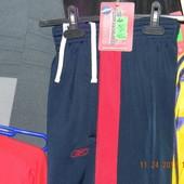Reebok брюки эластиковые (синие с красным) Lр NEW