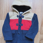 Ladybird демисезонное  пальто на мальчика 3-4года!