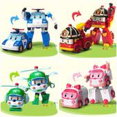 Машинки трансформеры из мультфильма робокар поли Robocar Poli 83169-72