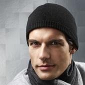 Шерстяная двухсторонняя шапка Woolmark blend от ТСМ тchibo Германия