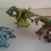 Набор драконов, 3 штуки в наборе