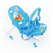 Шезлонг-качалка Baby Tilly bt-bb-0001 Blue, голубой