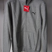 Кофта Puma ess sweat jacket fl (831862-03) Оригинал р.m-l-xl