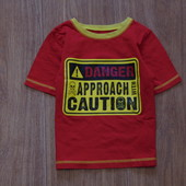 Яркая футболочка George на мальчика, размер 4-5 лет, будет раньше, состояние идеальное.