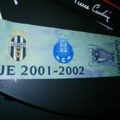 шарф champions league 2001-2002 110x17см оригинал