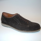 модные мужские туфли натуральная замша Код:М