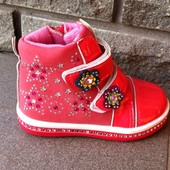 ботинки деми 22 27 размеры