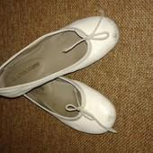 мягкие кожаные балетки туфли 33 р.