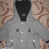 Пальто (куртка) Next на 3 - 6 місяців. ріст 68 см. стан нового