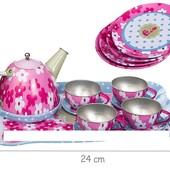 Посуда метал., 14 предмет., в пакете 25х16х10см
