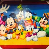 Картина Дисней Микки мауз в детскую комнату