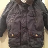 Теплая куртка на мальчика 18-24 мес. смотрите замеры!