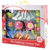 Набор плита + набор повара, 30 предметов PlayGo  В процессе игры ребенок с данной моделью игрушки ре
