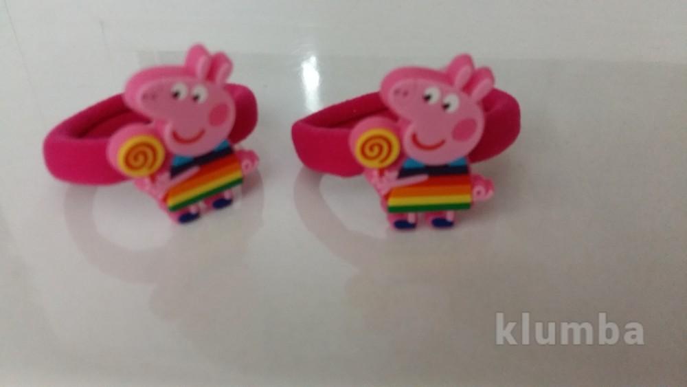 Качественные детские резинки свинка пеппа, новые фото №1