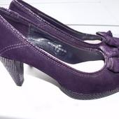 Стильные нарядные туфли р.4 стелька 23 см
