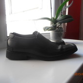 Туфли мужские кожа на ножку 25- 25.5 см
