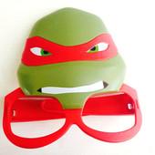 Маска- очки Чококэт, черепашки ниндзя, бетмен, робот, кот