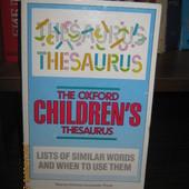 Оксфордский Детский Тезаурус - Softback